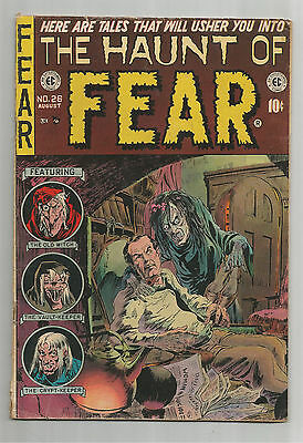 THE HAUNT OF FEAR #26: Golden Age EC Grade 4.5 With Anti-Censorship Editorial!!
