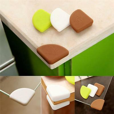 4pcs Baby Kids Table Corner Protector Silicone Safe Collision Angle Protection B