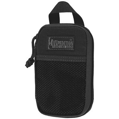 Maxpedition Micro Pocket Organizer Security Badge Holder Police Id Pouch Black
