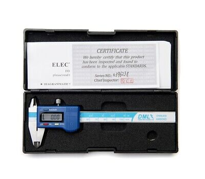 "100mm 4"" Inch Digital Pocket Vernier Caliper Electronic Gauge 12 Months Warranty"
