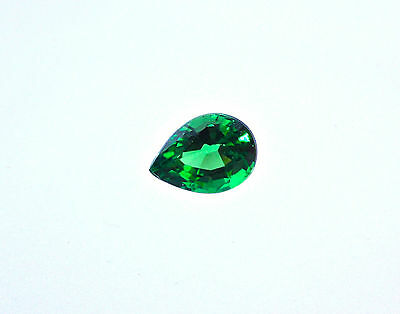✰ Pear Shape Tsavorite | 0.74 Carat Gemstone | Vivid Green ✰