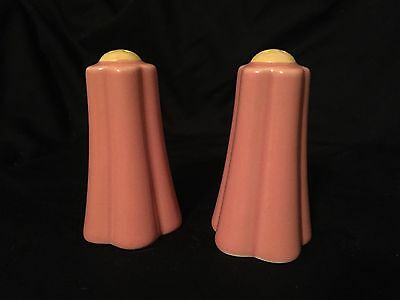 Tender Heart Treasures Pink And Yellow Flower Shape Salt & Pepper Shakers