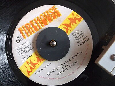 Johnny Clark - Strictly Ragga Muffin on Firehouse Produced by King Tubby's