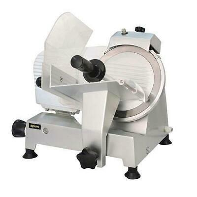 Meat Slicer, Anodized Aluminium Body, Commercial Quality, 220mm Blade, Apuro