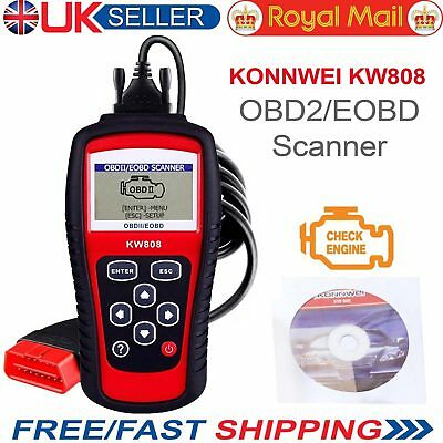 Konnwei KW808 CAN OBD2 Car Engine Diagnostic Scanner Code Reader Tool VW Audi VS
