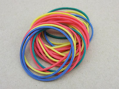 10pc Rubber Drive belt Pulley Model Motor DIY Toys 4 colors