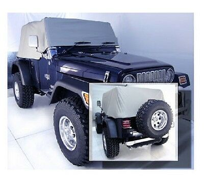 Housse protection habitacle Wrangler YJ-TJ 1992-06 / YJ-TJ Cab cover