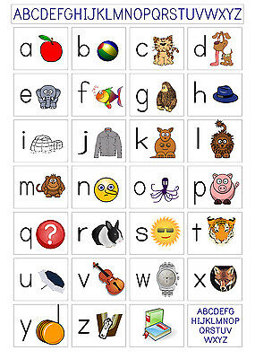 Giant Early Learning Abc Alphabet Ela01 A1,a2,a3,a4 Sizes Poster Print