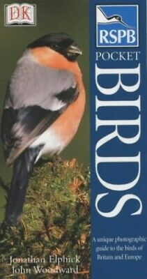 RSPB Pocket Birds, Woodward, John Paperback Book The Cheap Fast Free Post