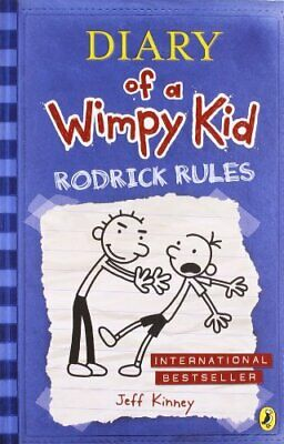 Diary of a Wimpy Kid: Rodrick Rules by Kinney, Jeff Book The Cheap Fast Free