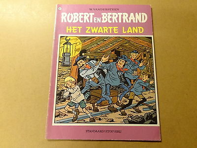 STRIP / ROBERT EN BERTRAND 6: HET ZWARTE LAND | Herdruk 1979