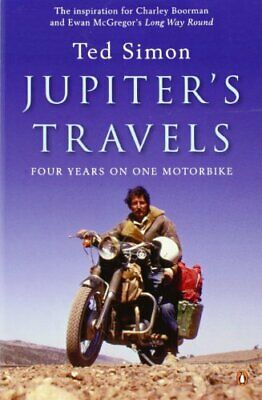 Jupiter's Travels by Simon, Ted Paperback Book The Cheap Fast Free Post