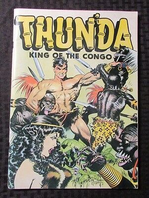 1973 THUNDA King Of The Congo by FRANK FRAZETTA Sussex VF- Russ Cochran Oversize