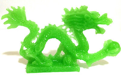 JADE COLOR Chinese Feng Shui Dragon Figurine Statue for Luck & Success 5 inch
