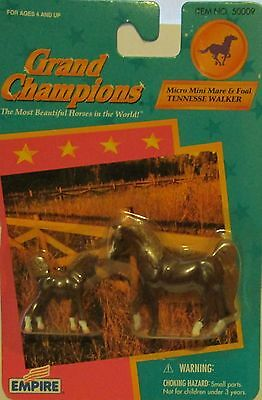 1998 Grand Champions Micro Mini Mare & Foal TENNESSE WALKER Mom and baby