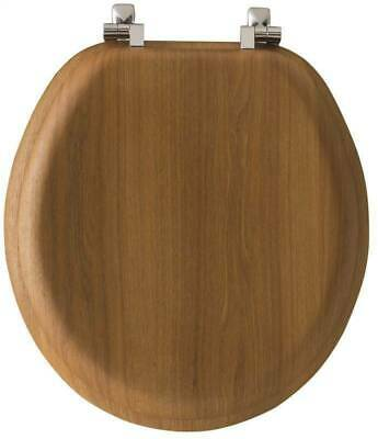 Bemis 9601BR378 Natural Reflection Toilet Seat Wood Venner Natural Oak