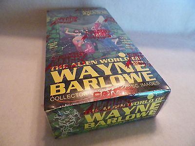Alien World of Wayne Barlowe Fantasy Art Trading Cards Unopened Pack Box NS91