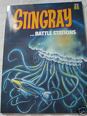 Stingray Comic Strip Story Book - Battle Stations - No.1- Rare- Brand New - Mint