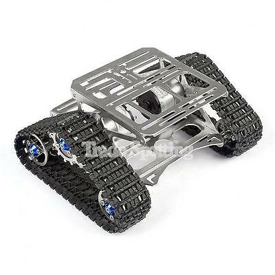 All Metal Robot Chassis Track Tank Car Chassis Platform for Arudino New