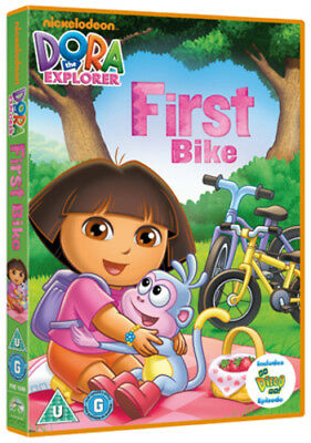 Dora the Explorer: Dora's First Bike DVD (2012) Chris Gifford ***NEW***