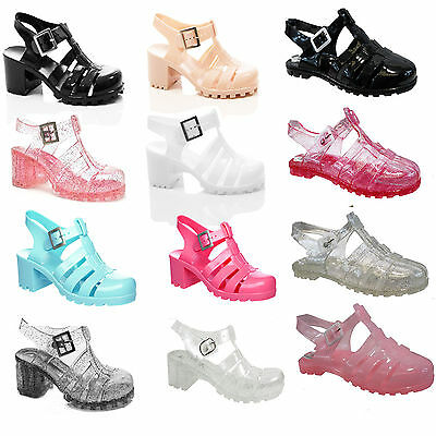 Girls Children Kids Jelly Sandals Retro Gladiator  Beach Summer Shoes
