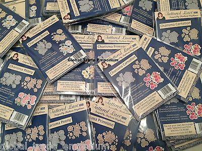 Tattered Lace CHARISMA FLOWER COLLECTION Dies PLUS CD ROM  'Click - Print - Go'