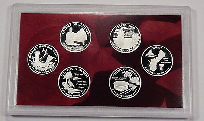 2009 S 90% Silver Proof  US Territiries 6 Coin Set NO Box/ NO COA