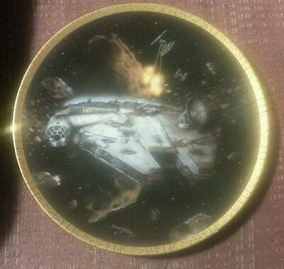 Star wars plate collection falcon