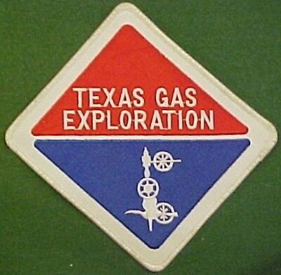 Texas Gas Exploration on White Twill Patch