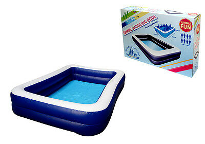 Super Large Deluxe Family Size Swimming Paddling 8 Person Pool Garden Outdoors