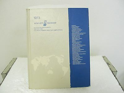 HP Hewlett Packard 1973 Electronic Instruments Vintage Catalog, 492 Pages