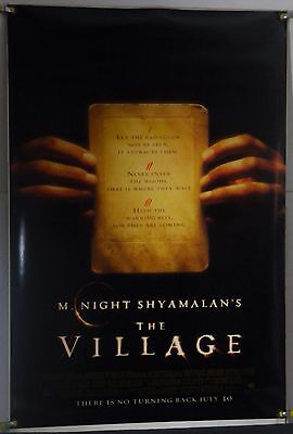 The Village Ds Rolled Adv Orig 1Sh Movie Poster Joaquin Phoenix (2004)