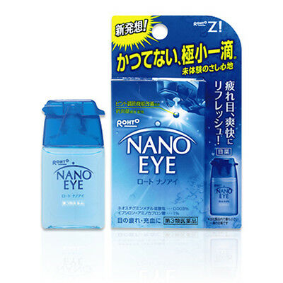 Rohto Lycee NANO EYE Eye Drops Medicated 6ml Japan