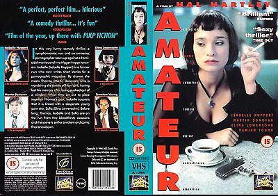 Amateur, Hal Hartley Video Promo Sample Sleeve/Cover #14467