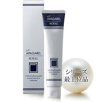 Sangi APAGARD ROYAL Toothpaste Anticaries & Restorative Whitening 135g Japan