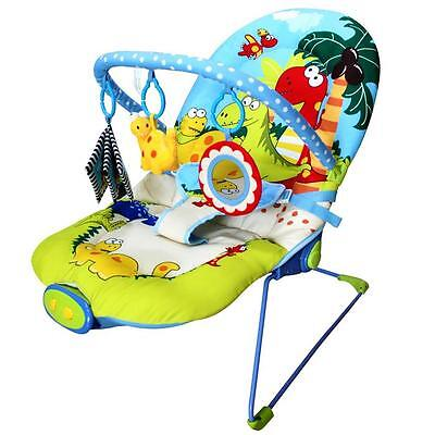 Dinosaur Century Musical Vibrating Baby Activity Play Bouncer