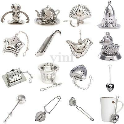 Stainless Steel Loose Tea Infuser Leaf Strainer Filter Diffuser Herbal Spice