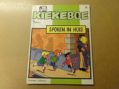 STRIP / KIEKEBOE 11: SPOKEN IN HUIS | 1ste druk