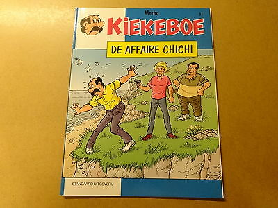 STRIP / KIEKEBOE 91: DE AFFAIRE CHICHI | 1ste druk