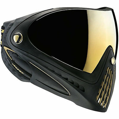 Dye I4 Paintball Mask Goggle - Thermal - Black / Gold