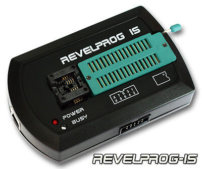 REVELPROG-IS PROGRAMMER (SERIAL FLASH BIOS SPI 1.0V - 5.0V) USB + SOIC-8 200mil