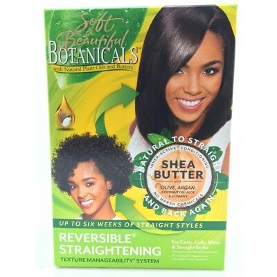 Soft&beautiful Botanicals Reversible Straightening Texture Manageability System