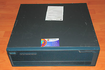 Cisco 3745 Dual Power Supply Router  6MthWty TaxInv CCNA CCNP CCPV
