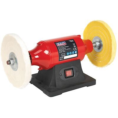 Sealey Bench Mounting Metal Buffer/Polisher/Polishing 200mm - 550W/230V - BB2002