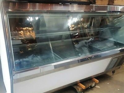 8ft Fish or Poultry Refrigerated DISPLAY CASE Self-Contained