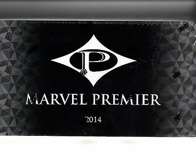 2014 Upper Deck  Marvel Premier Sealed  Hobby Box