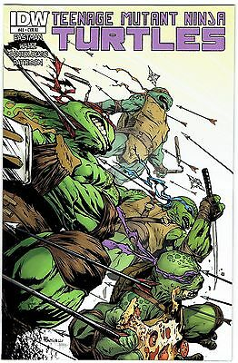 Tmnt Ongoing #46 1:10 Incentive Variant Cover