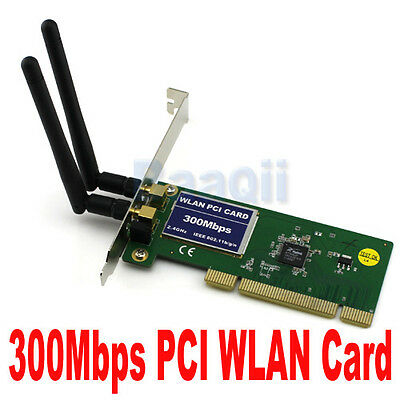 300mbps 802.11g/n PCI Carte WIFI Sans fil Wireless Réseau WLAN Card adapter