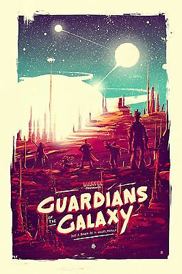 Guardians Of The Galaxy Movie POSTER ART PRINT A4 A3 GOTG02