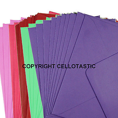 Premium Quality 100GSM C7 Envelopes (82x113) - Choice of Colours and Quantities